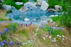 Het landschap van de tuin Stock Fotografie