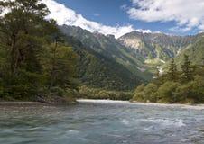Het landschap van de vallei Royalty-vrije Stock Afbeelding