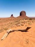 Het landschap van de Vallei van het monument Stock Foto