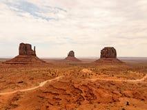 Het landschap van de Vallei van het monument Stock Foto's