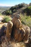 Het Landschap van de Vorming van de rots Stock Afbeelding