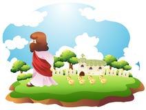 Het landschap van de vrede Stock Afbeelding