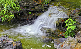 Het landschap van de waterval Royalty-vrije Stock Fotografie