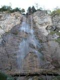 Het landschap van de watervalboom skakavac Royalty-vrije Stock Afbeelding