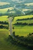 Het landschap van de weg Stock Afbeelding