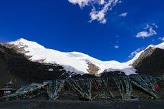 Het Landschap van de wegberg in de aandrijving van het xizangtoerisme stock fotografie