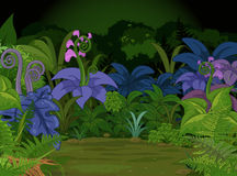 Het landschap van de wildernis stock illustratie