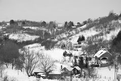 Het landschap van de winter Royalty-vrije Stock Afbeelding