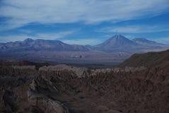 Het landschap van de woestijn Stock Foto's