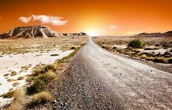 Het landschap van de woestijn Royalty-vrije Stock Foto