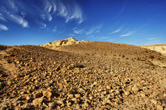Het landschap van de woestijn royalty-vrije stock afbeeldingen