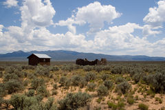 Het landschap van de woestijn Stock Afbeeldingen
