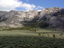 Het Landschap van de woestijn dat in Ely, Nevada wordt genomen Stock Afbeeldingen