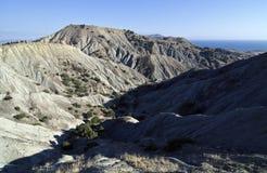 Het landschap van de woestijn in de KrimBergen. Royalty-vrije Stock Foto's