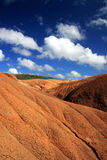 Het landschap van de woestijn in Martinique Royalty-vrije Stock Afbeelding