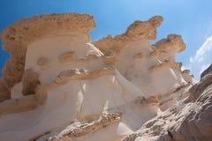 Het landschap van de woestijn, Negev, Israël Royalty-vrije Stock Foto's