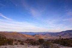 Het Landschap van de Woestijn van het Meer van de piramide Royalty-vrije Stock Afbeeldingen