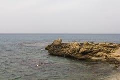 Zeekust Royalty-vrije Stock Afbeeldingen