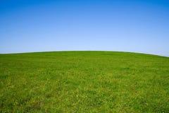 Het landschap van de zomer met hemel en gebied Stock Fotografie