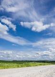 Het landschap van de zomer, Rusland Stock Afbeelding