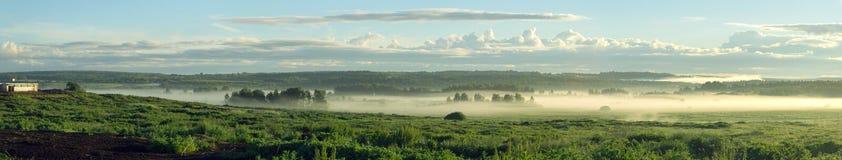 Het landschap van de de zomerdageraad Stock Foto