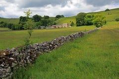 Het landschap van Derbyshire. Royalty-vrije Stock Afbeeldingen