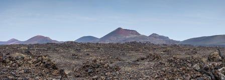 Het landschap van Desertic Stock Afbeeldingen