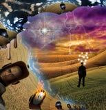Het landschap van Dreamlike stock illustratie