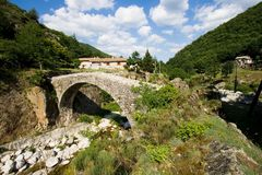 Het landschap van Frankrijk royalty-vrije stock fotografie