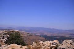 Het landschap van Galilee stock afbeelding
