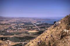 Het landschap van Galilee Royalty-vrije Stock Afbeeldingen