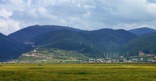 Het landschap van gebieden Royalty-vrije Stock Foto
