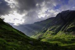 Het Landschap van Glencoeschotland Royalty-vrije Stock Afbeeldingen