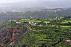 Het landschap van Gran Canaria stock foto