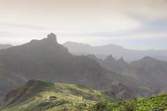 Het landschap van Gran Canaria royalty-vrije stock foto's