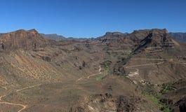 Het landschap van Gran Canaria Royalty-vrije Stock Afbeeldingen