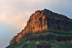 Het landschap van Gran Canaria, Spanje Royalty-vrije Stock Fotografie