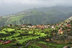 Het landschap van Gran Canaria, Spanje Royalty-vrije Stock Afbeelding
