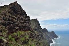 Het landschap van Gran Canaria, Spanje Royalty-vrije Stock Afbeeldingen