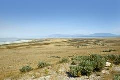 Het Landschap van Great Salt Lake Royalty-vrije Stock Foto's