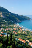 Het landschap van Griekenland stock foto