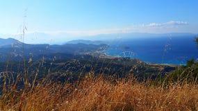 Het landschap van Griekenland stock afbeelding