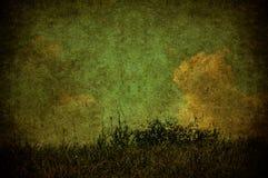 Het landschap van Grunge Royalty-vrije Stock Afbeeldingen