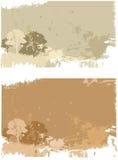 Het landschap van Grunge Stock Afbeeldingen