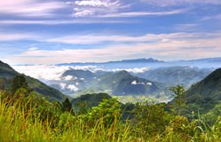 Het landschap van Guatemala royalty-vrije stock afbeeldingen