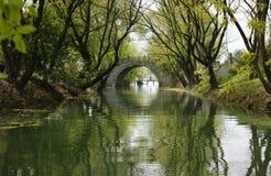 Het landschap van Hangzhou Royalty-vrije Stock Foto