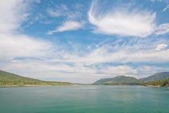 Het Landschap van het barrièremeer Stock Afbeelding