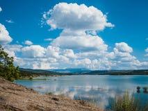 Het Landschap van het bergmeer Stock Foto