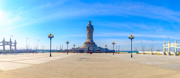 Het landschap van het culturele park van Tianjin Mazu Stock Fotografie
