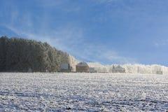 Het landschap van het dorp Royalty-vrije Stock Foto's